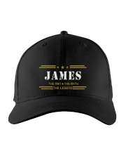 JAMES Embroidered Hat front