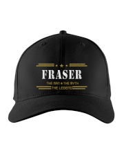 FRASER Embroidered Hat front