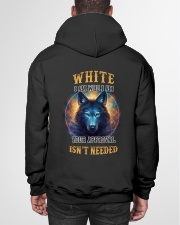 WHITE Rule Hooded Sweatshirt garment-hooded-sweatshirt-back-01