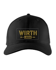 Wirth Legend Embroidered Hat front