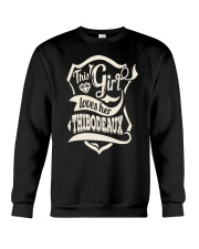 THIBODEAUX with love Crewneck Sweatshirt thumbnail