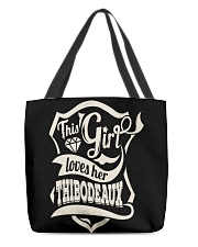 THIBODEAUX with love All-over Tote thumbnail