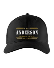 ANDERSON Embroidered Hat front