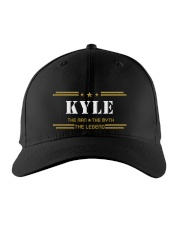KYLE Embroidered Hat front