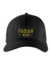 Fabian Legacy Embroidered Hat front