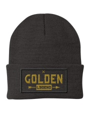 Golden Legend Knit Beanie front