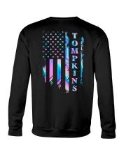 Tompkins Flag Crewneck Sweatshirt back