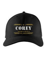 COREY Embroidered Hat front