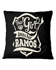 RAMOS 007 Square Pillowcase tile