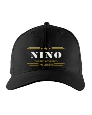 NINO Embroidered Hat front