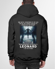 LEONARD Storm Hooded Sweatshirt garment-hooded-sweatshirt-back-01