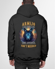 ARMIJO Rule Hooded Sweatshirt garment-hooded-sweatshirt-back-01