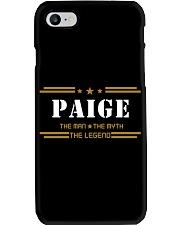 PAIGE Phone Case tile