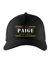 PAIGE Embroidered Hat front
