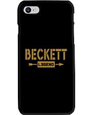 Beckett Legend Phone Case thumbnail