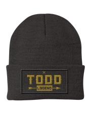 Todd Legend Knit Beanie front