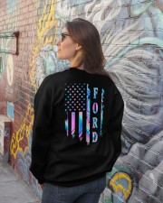 Ford Flag Crewneck Sweatshirt lifestyle-unisex-sweatshirt-back-2