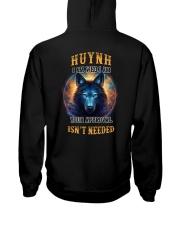HUYNH Rule Hooded Sweatshirt back