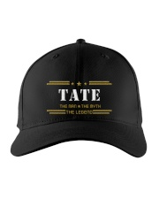 TATE Embroidered Hat front
