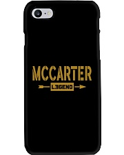 Mccarter Legend Phone Case thumbnail