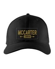 Mccarter Legend Embroidered Hat front