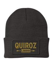 Quiroz Legend Knit Beanie front