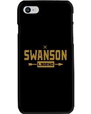 Swanson Legend Phone Case tile