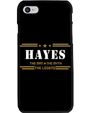 HAYES Phone Case tile