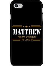 MATTHEW Phone Case tile