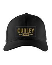 Curley Legend Embroidered Hat front