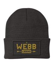 Webb Legend Knit Beanie front