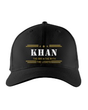 KHAN Embroidered Hat front