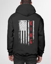 KING 01 Hooded Sweatshirt garment-hooded-sweatshirt-back-01
