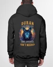 DURAN Rule Hooded Sweatshirt garment-hooded-sweatshirt-back-01