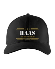 HAAS Embroidered Hat front