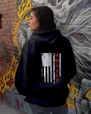 HUSSEY Back Hooded Sweatshirt lifestyle-unisex-hoodie-back-1