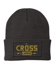 Cross Legend Knit Beanie front