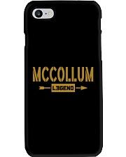 Mccollum Legend Phone Case tile