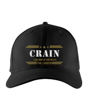 CRAIN  Embroidered Hat front