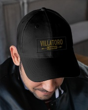 Villatoro Legacy Embroidered Hat garment-embroidery-hat-lifestyle-02