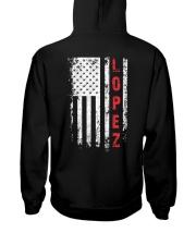 LOPEZ 01 Hooded Sweatshirt back