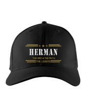 HERMAN Embroidered Hat front