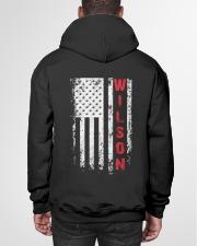 WILSON 01 Hooded Sweatshirt garment-hooded-sweatshirt-back-01
