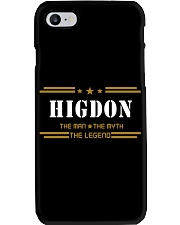 HIGDON Phone Case tile