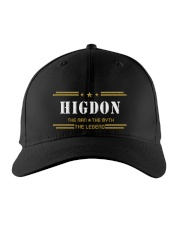 HIGDON Embroidered Hat front