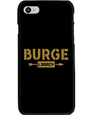 Burge Legacy Phone Case thumbnail