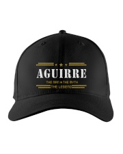 AGUIRRE Embroidered Hat front