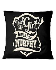 MURPHY 007 Square Pillowcase thumbnail