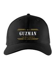 GUZMAN Embroidered Hat front