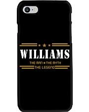 WILLIAMS Phone Case tile